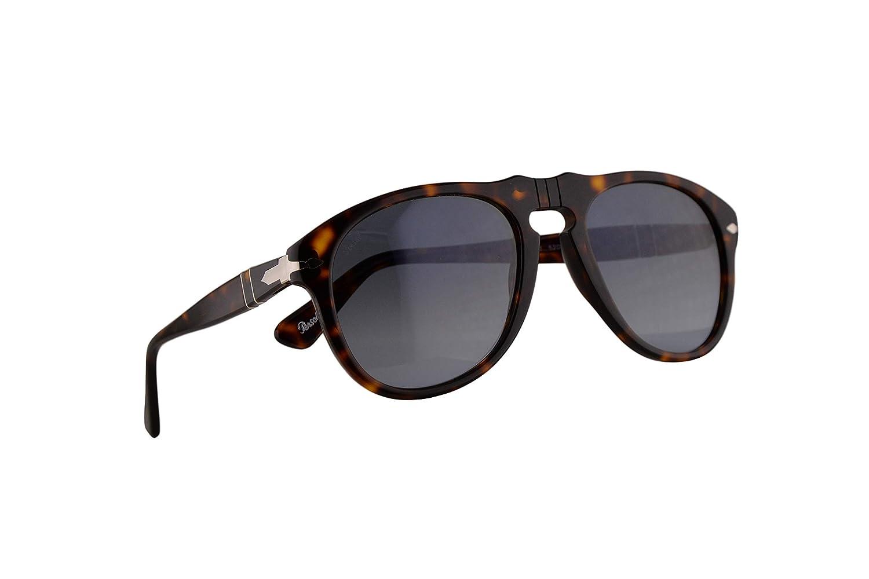 Persol 649 Gafas De Sol Havana Con Lentes Azul Degradado en ...