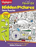 img - for Highlights Favorite Hidden Pictures  Farm Puzzles book / textbook / text book