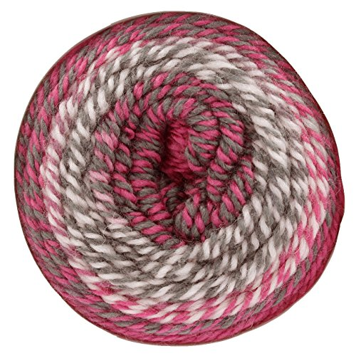 King Cole Carousel Chunky Knitting Wool Tweed Effect Cake Yarn 1 x 200g Ball (Twister - 2776)