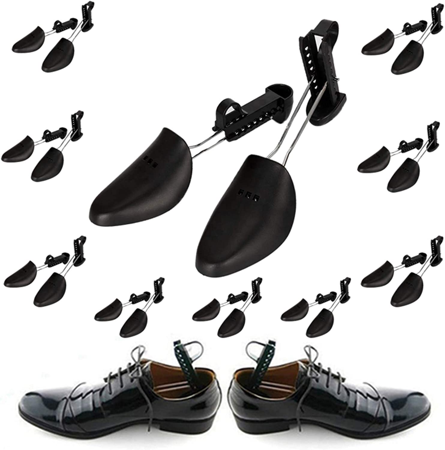 4 X Pairs Of Shoe Tree Trees Plastic Maintain Shape Shoes Footwear