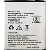 Screencart Replacement High Backup Mobile Battery for Ivoomi iv 501