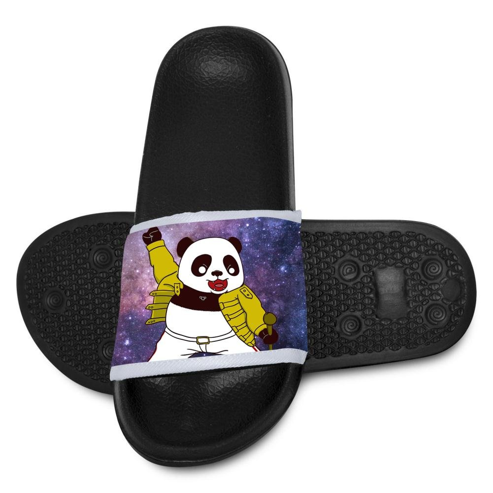 Kids Rocking Time Funny Panda Slippers Summer Beach Sandals for Boys Girls