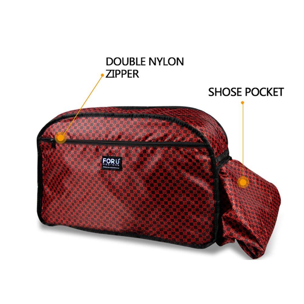 HUGS IDEA Cool 3D Animals Print Large Gym Sports Travel Duffles Tote Bag Y-W1109T