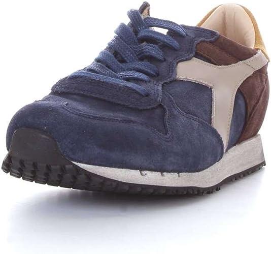 Trident/_90/_S/_C7141/_Marrone Diadora Heritage Mens Suede Sneakers