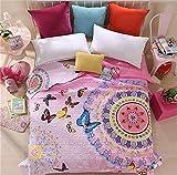 Auvoau Boho Style Bedspread Bohemian Bedding Girl Bedding Bedspread Boho Style Quilt (Queen, 2)