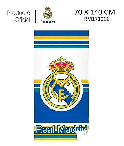 Real Madrid C.F. Toalla DE Playa Y Baño Real Madrid (RM173011, 70X140CM)
