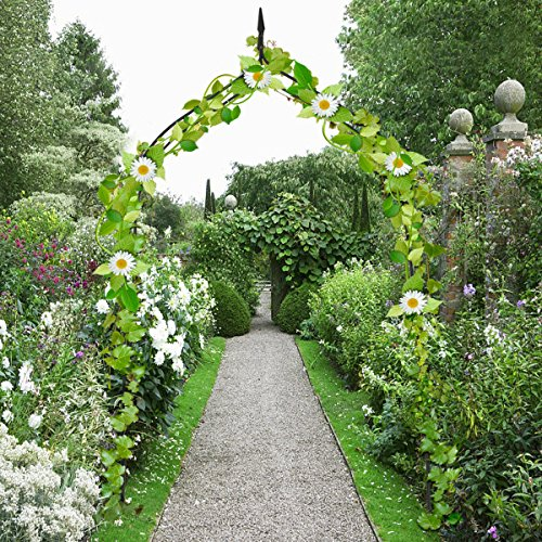 Allblessings Wide Steel Arch 8'4 High x 4'7 Rose Arbor Climbing Plant Outdoor Garden For Decor Support by Allblessings (Image #2)