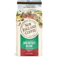 New England Coffee New England Breakfast Blend Decaffeinated Medium Roast Ground Coffee 10 oz. Bag