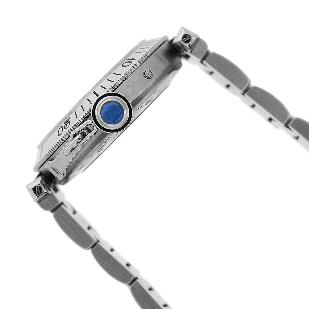 Cartier Pasha automatic-self-wind mens Watch w31037h3 (Certified Pre-owned) by Cartier (Image #3)