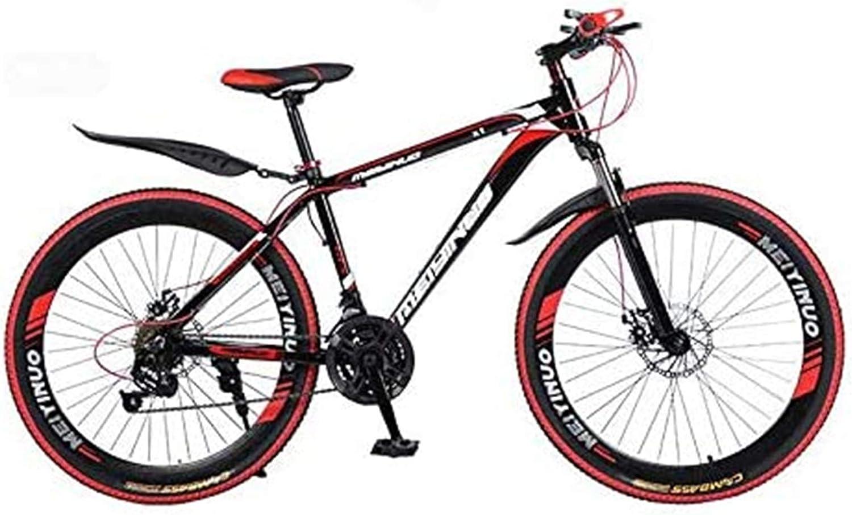 Ligero, 26 pulgadas de bicicletas de montaña, el PVC y el agarre Todos los pedales de aluminio y caucho, Marco de acero de alto carbono y aleación de aluminio, doble freno de disco Liquidación de inve