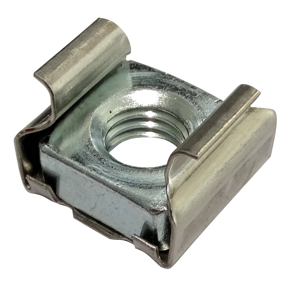 Aerzetix: 10 x M8 cage nuts, L16mm suitable for 1.8-3.2mm sheet metal. C19140-AQ119 x10