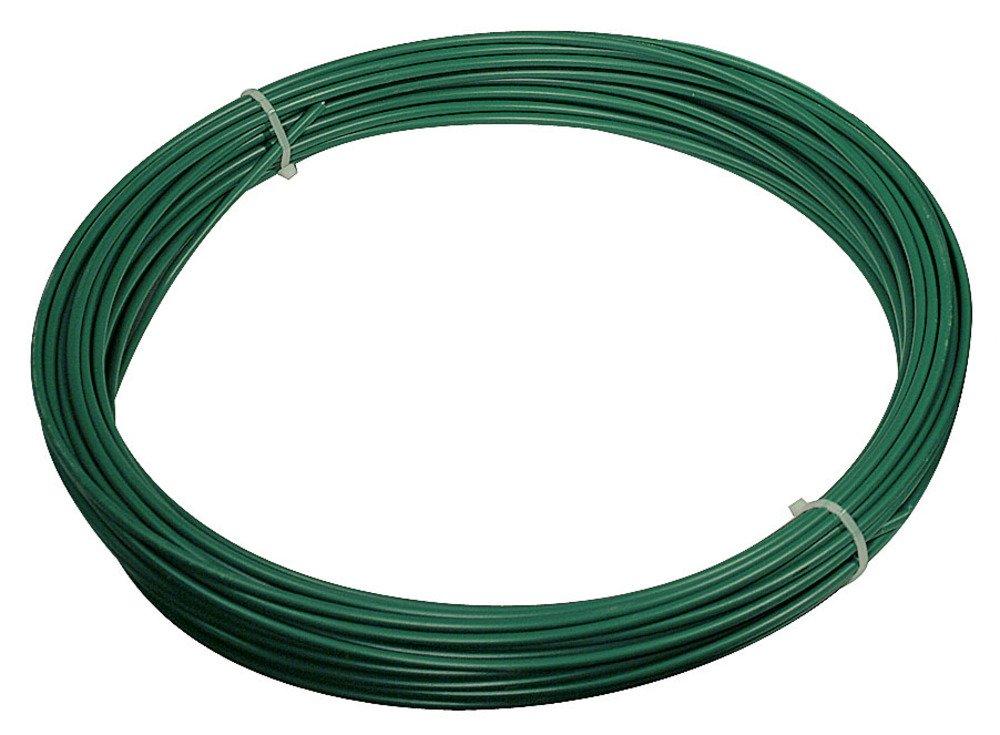 VERDELOOK Filo di ferro plastificato Matassa Plast dimensioni Ø 1.8x100, verde Biacchi Ettore srl
