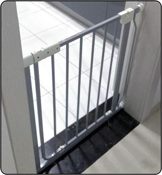 QIANDA Barrera de Seguridad Bebé Puerta de la Escalera Tabique Guardia De La Escalera Barrera Efectiva