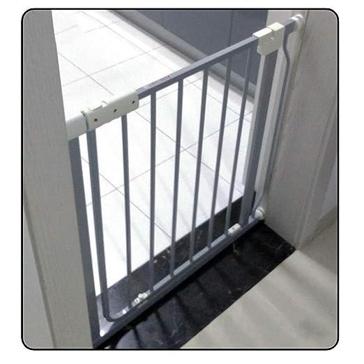 QIANDA Barrera de Seguridad Bebé Puerta de la Escalera Tabique ...