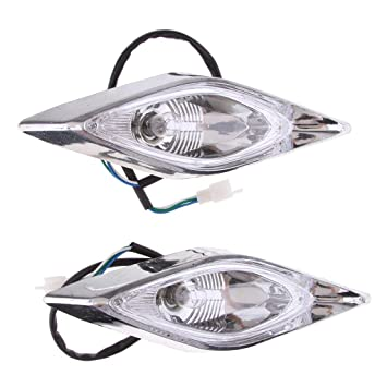 Atv,rv,boat & Other Vehicle 2pcs Motorcycle Atv Quad Head Lights Lamps Headlight For 110cc 125cc 200cc Durable Modeling Atv Parts & Accessories