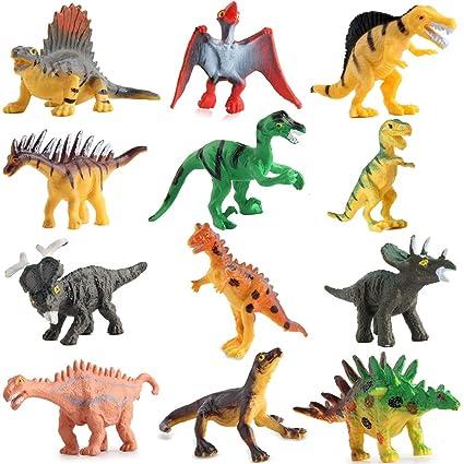 Valefortoy 72 Piece Mini Dinosaur Toy Set New