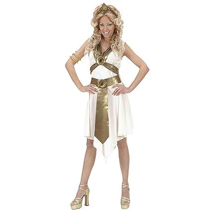 WIDMANN Disfraz de túnica romana para mujer: Amazon.es ...