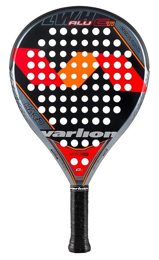 Varlion LW H Alu CTi Hard - Pala de pádel, Unisex Adulto, Rojo/Naranja, 330-335 gr.: Amazon.es: Deportes y aire libre