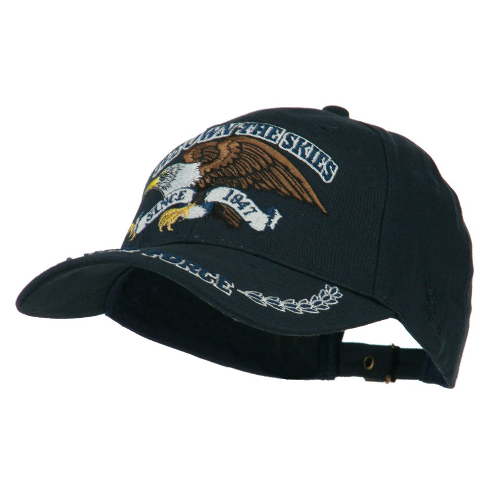 Eagle Crest US Air Force Extreme Embroidery Military Cap - Brown