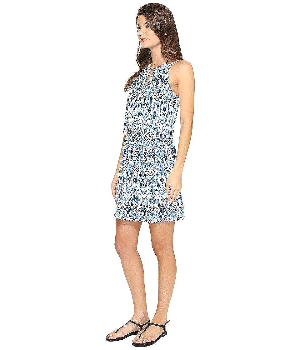 6cf355a3e1 Amazon.com: Tommy Bahama Womens Ikat High Neck Short Dress Cover-Up:  Clothing