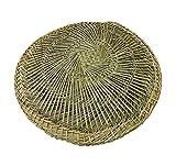 DRAGON SONIC Bamboo Steamer Mats/Cloak Pad Natural Hollow Steam Pad/cloth