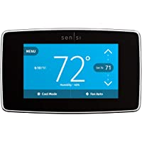Emerson Sensi Touch Wi-Fi Smart Thermostat with Touchscreen Color Display, Works with Alexa, Energy Star Certified, C…