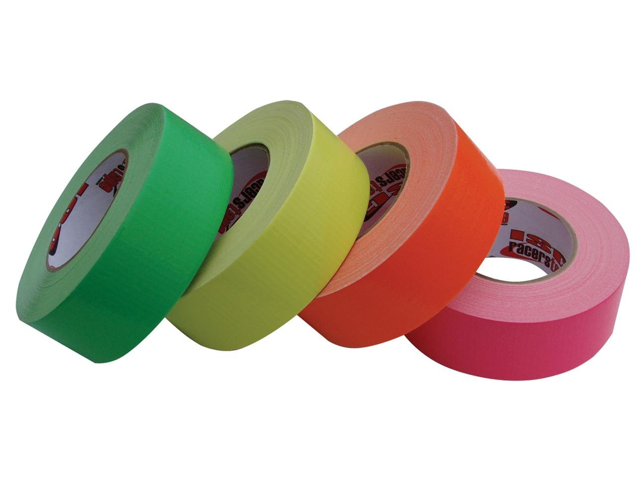ISC Racers Tape RT3008N ISC Neon Standard-Duty Racer's Tape: 2'' x 60 yd., Fluorescent Orange