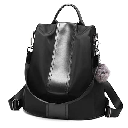 Zeewoo Mochila Mujer Hombre Portatil 15 Antirrobo Casual Bolso Senderismo BuinessTrabajo Impermeable Nylon School Backpack
