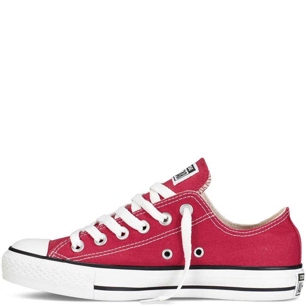 456b61ec9cb2be Converse Unisex Chuck Taylor All Star Low Top Red Sneakers - Men s 9.5  Women s 11.5 - M9696 X9696   Fashion Sneakers   Clothing