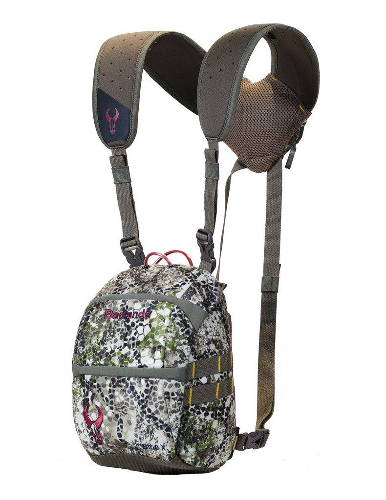 Badlands Bino X Camouflage Hunting Binocular Case, Hydration Compatible, Approach Camo
