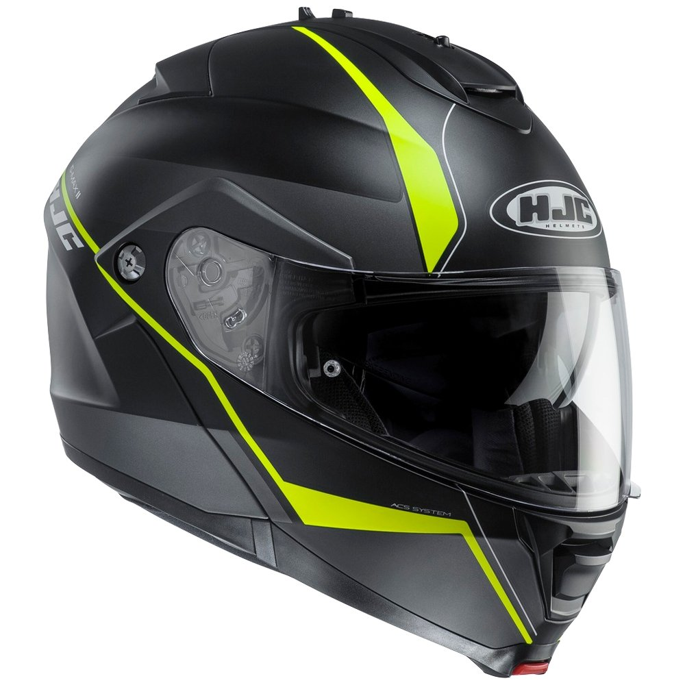 Amazon.es: HJC Is-MAX II Mine Cascos modulares de Moto Motocicleta Bicicleta Blanco Negro XS(53-54cm)