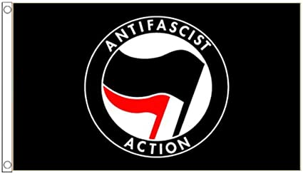 amazon com anti fascist action anti racism flag 150cm x 90cm 5