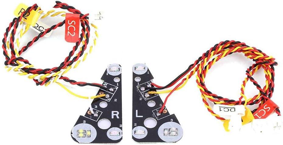 Dilwe RC LED Luz, RC Modelo LED Luces Set Grupo de L¨¢mparas ...