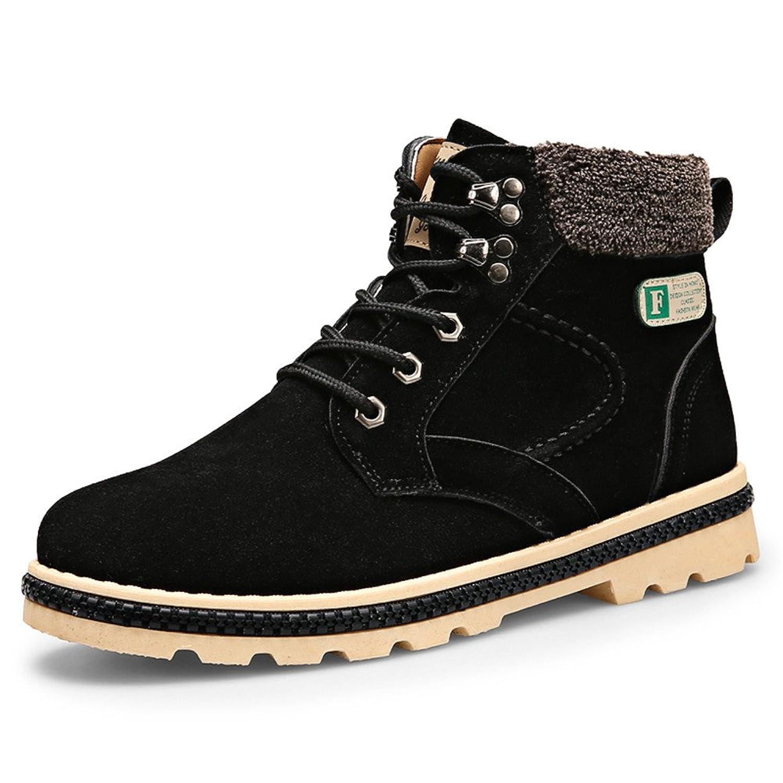 ce9bd625830a0 good 2016 winter new thick add velvet snow boots men Martin boots ...