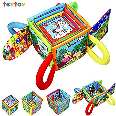 TEYTOY Baby Toys First Words Rattle Magic Education Toys Baby Early Education Cotton Animal Series Magical Rattle Color Intelligence Toys for 0-24 Months Infant Kids by TEYTOY that we recomend individually.