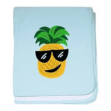 1484a8221dc Amazon.com  CafePress - Funky Pineapple - Baby Blanket