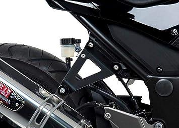 Yoshimura Muffler Bracket Kit Black for Kawasaki Ninja 300R 2013