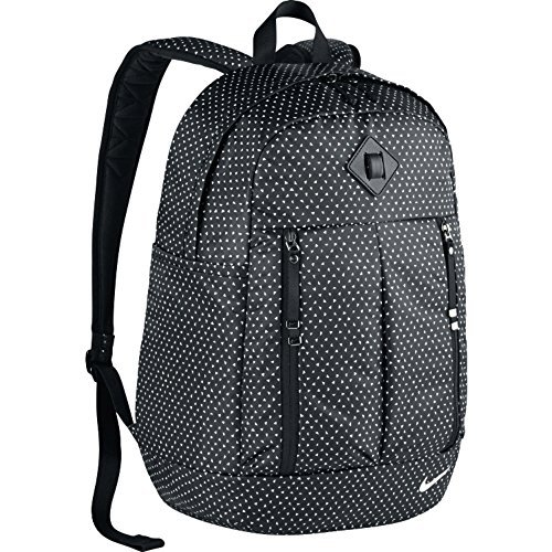 "Women's Nike Auralux Backpack school bag 19""H x 13""W x 7""D black"