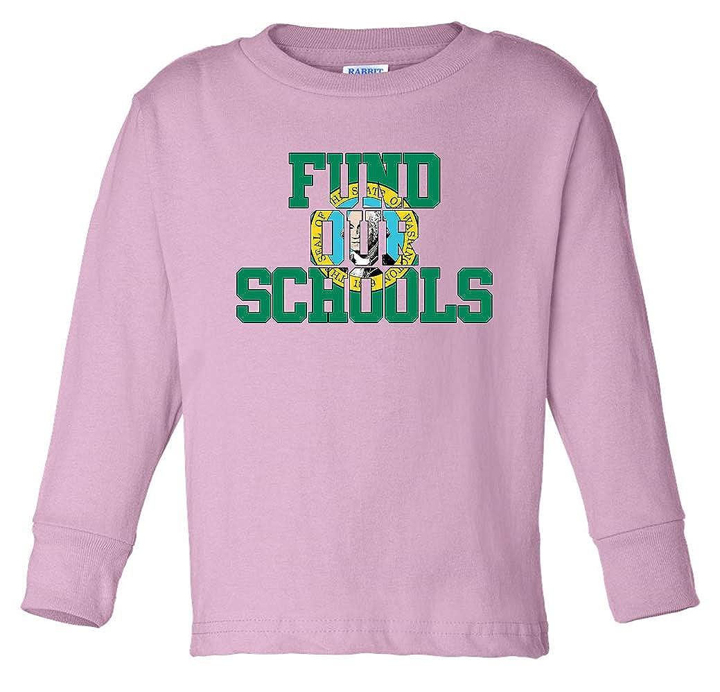 Tenacitee Babys Fund Our Washington Schools Shirt