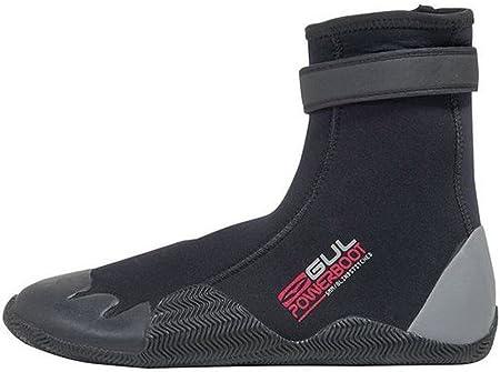 GUL //16 Power 5mm Round Toe Boot Black//Grey BO1263