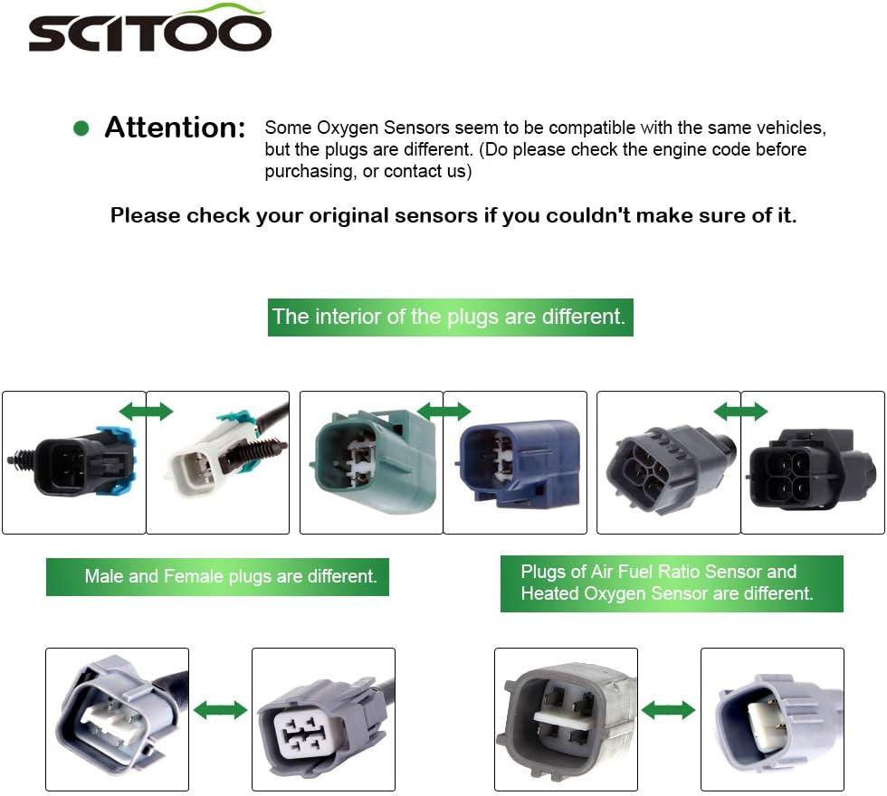Suzuki Equator SCITOO O2 Oxygen Sensor Downstream 4 Wires SG1306 fit for Infiniti FX35 FX45 G35 M35 M45 Q45 for Nissan 350Z Altima Frontier Maxima NV1500 NV2500 NV3500 Pathfinde Quest Xterra