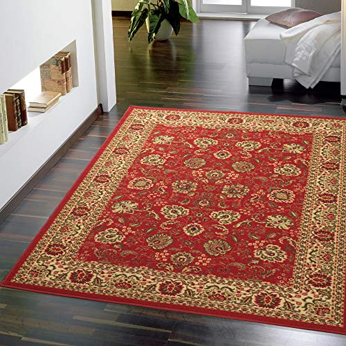 Ottomanson Ottohome Collection Persian Style Rug Oriental Rugs, 8'2