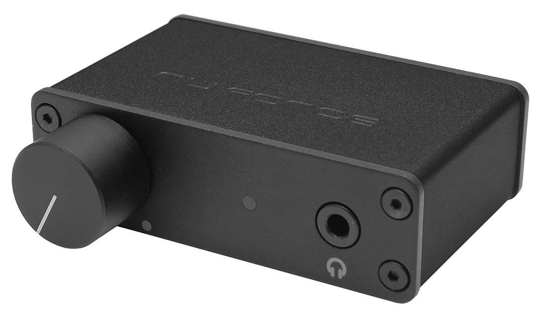 NuForce uDAC3 Black Optoma Mobile USB DAC and Headphone Amplifier (Black)