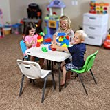LIFETIME 80473 Kids Stacking Chair (4 Pack), Lime