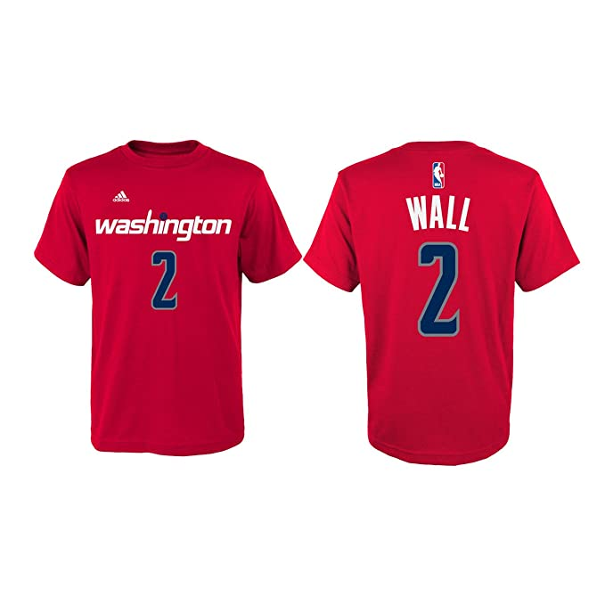 John Wall Washington Wizards  2 Red Kids Home Name and Number T Shirt (Kids 03aa6277d