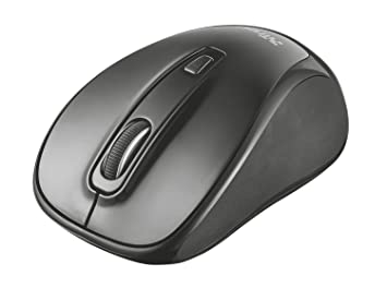 Trust Xani Compact Wireless Optical Mouse with Bluetooth Technology -  800/1600 DPI - Black