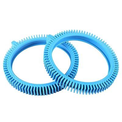 AR-PRO (2-Pack) Replacement Tires with Super Hump for Poolvergnuegen 896584000-143, Fits Select Poolvergnuegen/Hayward Phoenix Cleaners: Garden & Outdoor