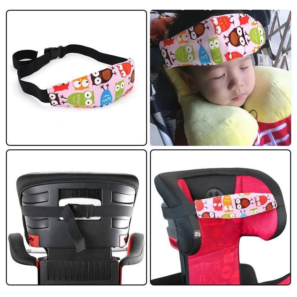 JZK 3 Piezas cinturón seguridad coche para bebés niños asiento arnés cinturón soporte cabeza cinturón seguridad: Amazon.es: Bebé