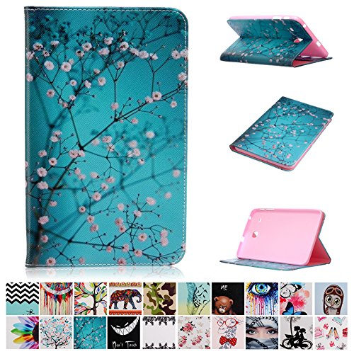 Galaxy Tab E 8.0 case-UUcovers(TM) Ultra Slim Lightweight Standing cartoon pattern Cover for Samsung Tab E 8.0-Inch SM-T377 Tablet (Pear...  samsung tab e case   Fintie Samsung Galaxy Tab E 9.6 Folio Case 61SeLPm0epL