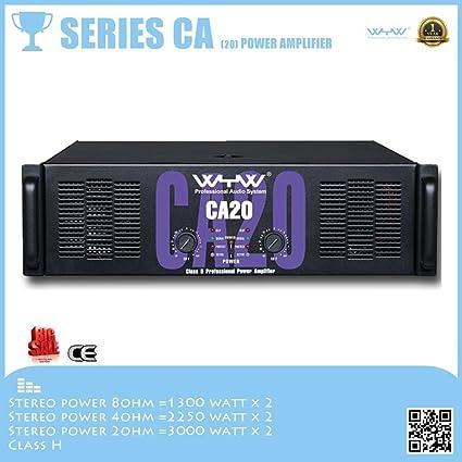 Amazon com: 2016 new power amplifier for active speaker CA